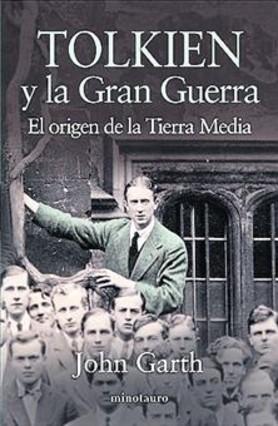 La portada del libro, con Tolkien.
