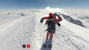 Imatge del cim del Mont Blanc.