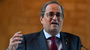Quim Torra, expresidente de la Generalitat