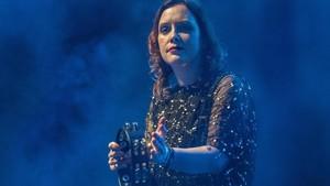 Rachel Goswell, en el concierto de Slowdive en Apolo