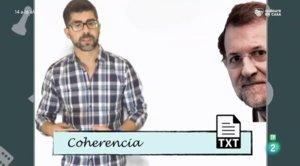 Polèmica per l'ús de frases incoherents de Rajoy en un programa educatiu