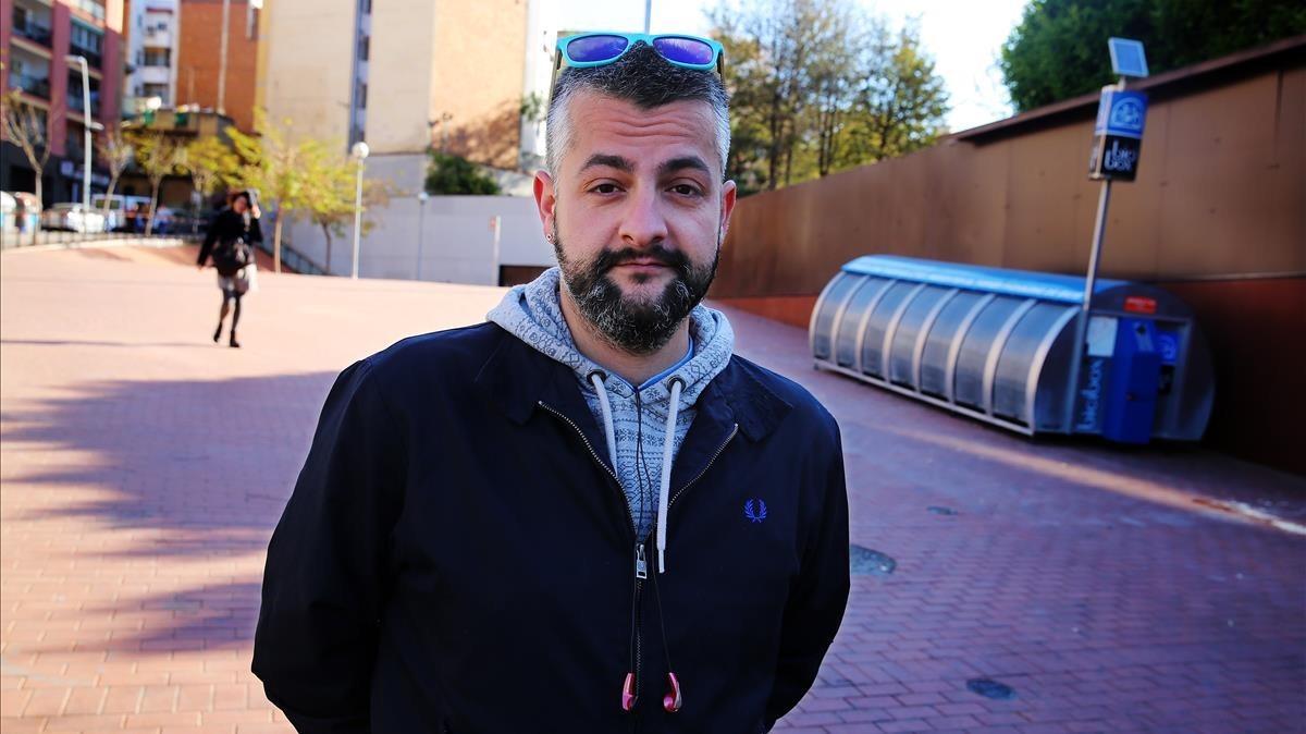 Raúl Alcaraz, en La Torrassa, en LHospitalet