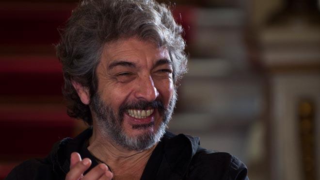 Ricardo Darín: La crisis argentina está alimentando la creatividad en el teatro.