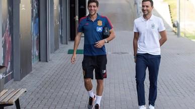 """Sergi Roberto: """"Es anecdótico que solo haya dos jugadores del Barça"""""""
