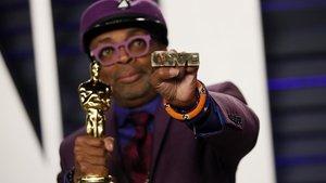 Spike Lee, con el Oscar al mejor guion por 'Infiltrado en el KKKlan'