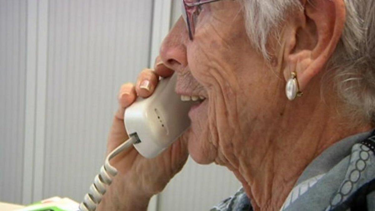 Servicio telefónico de apoyo a personas vulnerables.