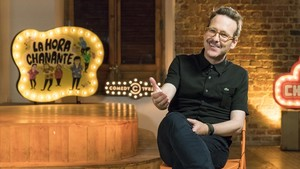 Joaquín Reyes, en el especial sobre La hora chanante que emite Comedy Central.