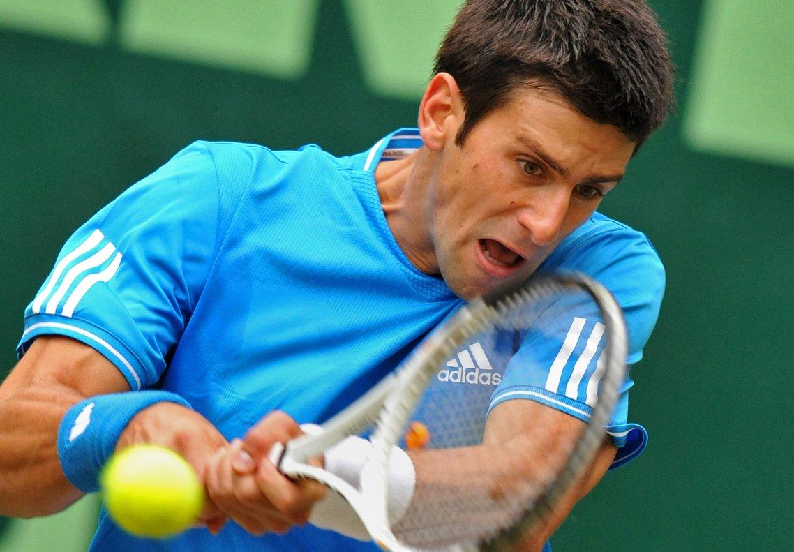 11/06/2009 El tenista serbio Novak Djokovic continúa como líder de la ATP