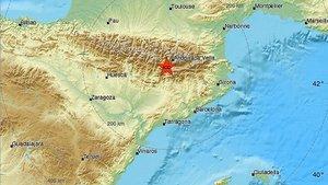 Un terremoto de magnitud 4,2 en la escala de Richter, con epicentro en Ribera dUrgellet, sacude toda Cataluya, este miércoles.