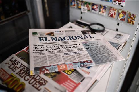 Testimonio del director del diario 'El Nacional'.