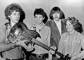 La banda The Velvet Underground original.