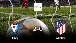 Triunfo del Eibar frente al Atlético de Madrid (2-0)