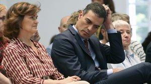 Sánchez aposta per una abstenció general després del xoc amb Iglesias.