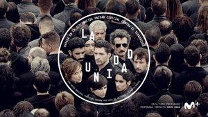 En una imagen promocional dela serie de Movistar+ 'La unidad'.