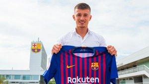 El Barça fitxa el fill de l'agent de De Jong