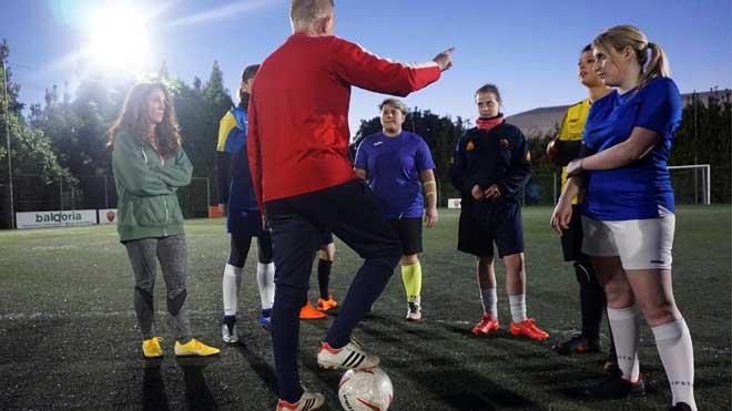 El Vaticano forma su primer equipo femenino de fútbol.