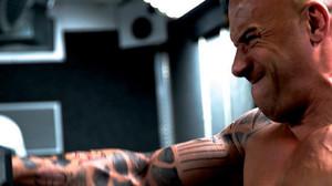 Vin Diesel, entrenando duro.