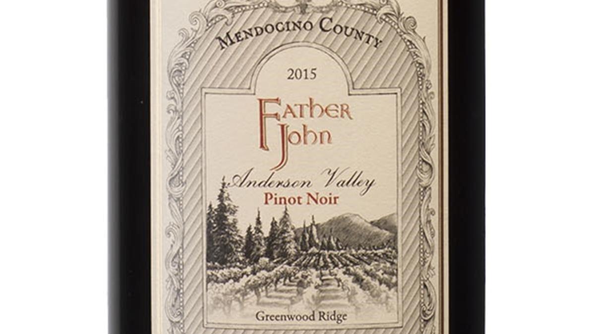 Father John Anderson Valley 2015, un vino para fans de la pinot noir