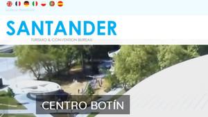 La web de turismo de Santander.