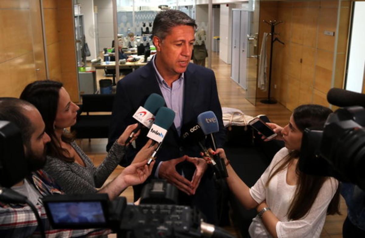 Xavier Garcia Albiol, declaraciones en Badalona.