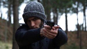 El actor catalán Quim Gutiérrez, en el telefilme de TVE El preciode la libertad.