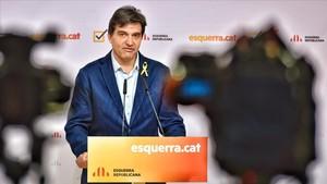 ERC avalarà Sànchez si la CUP també li dona suport