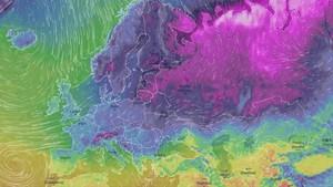 L'onada de fred siberià arribarà a Catalunya dilluns