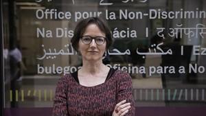 La abogada Marion Hohn, junto a la Oficina por la No Discriminación