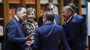 Els partits aparquen el debat sobre la pujada de les pensions