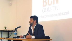 Daniel Vosseler, en la rueda de prensa celebrada este jueves en Barcelona.