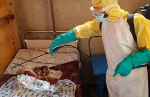 El brot d'Ebola al Congo supera els 350 morts