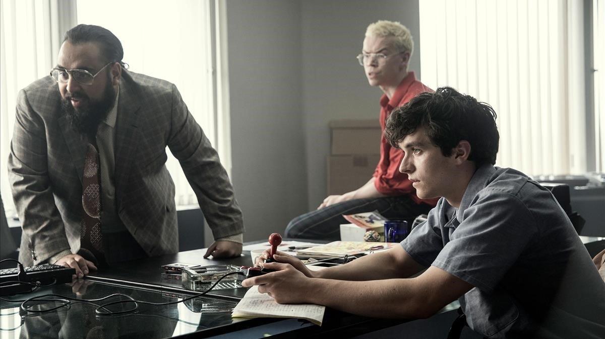 Una imagen del capítulo 'Bandersnatch', de la serie 'Black mirror'.