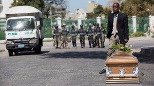 Almenys 26 morts a Haití en les manifestacions contra el president Moise