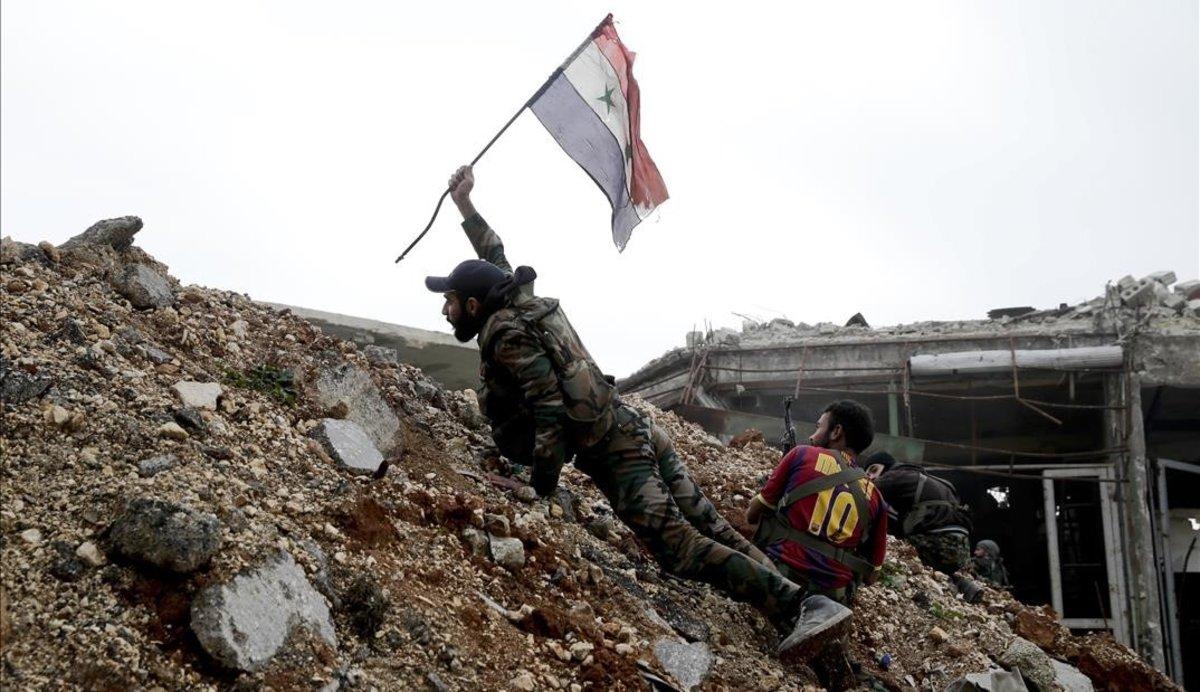 La guerra siriana compleix vuit anys