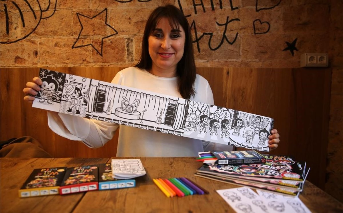 Nuria Tejón, cofundadora de PinTaPum.