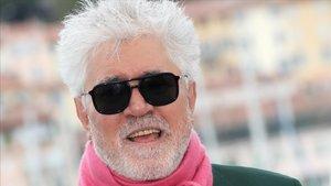 Pedro Almodóvar, en Cannes, la semana pasada.