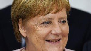 Merkel parla per primera vegada de les seves tremolors