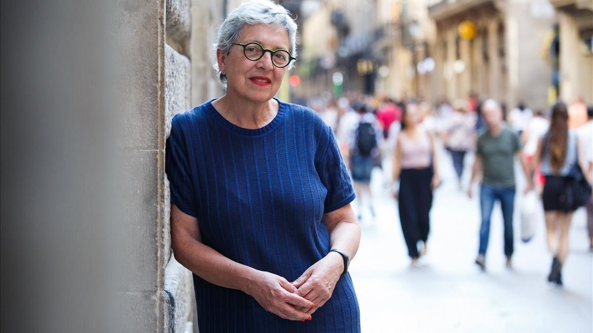 Assumpció Puig, decana del Col·legi d'Arquitectes de Catalunya.