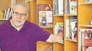 Joan Aliu, autor de cómic, librero y activista cultural de Palafrugell.