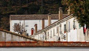 La colonia textil de l'Ametlla de Merola, en la comarca del Berguedà.