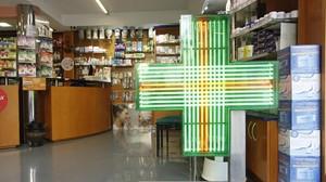 Una farmacia de Barcelona