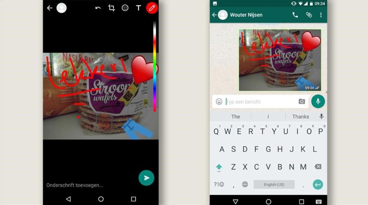 Whatsapp Permitira Dibujar Sobre Las Fotos Y Anadir Stickers
