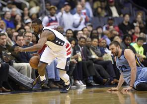 Los Grizzlies de Gasol no pudieron sacar una victoria de la pista de los Wizards.