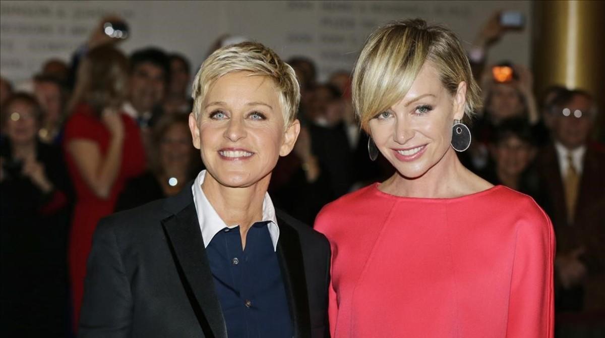 DeGeneres envía un tuit de apoyo a su mujer tras su denuncia de acoso sexual a Steven Seagal