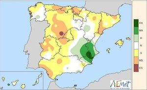 Pronóstico de las temperaturas para hoy en toda España.