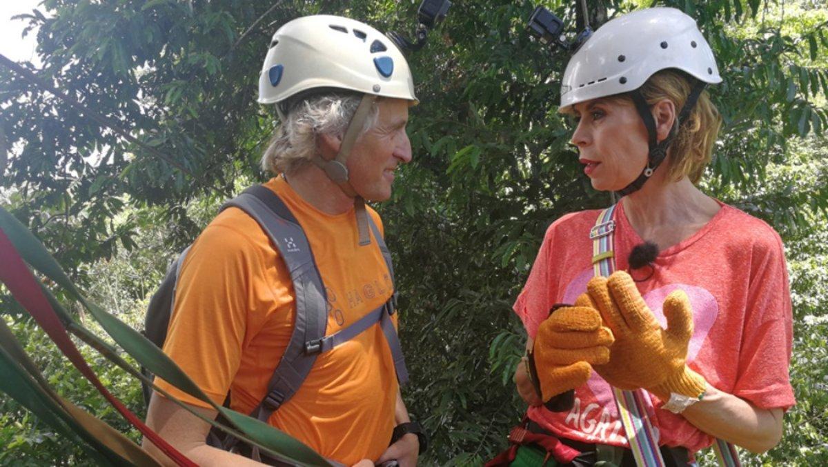 Ágatha Ruiz de la Prada junto a Jesús Calleja en la nueva entrega de Planeta Calleja.