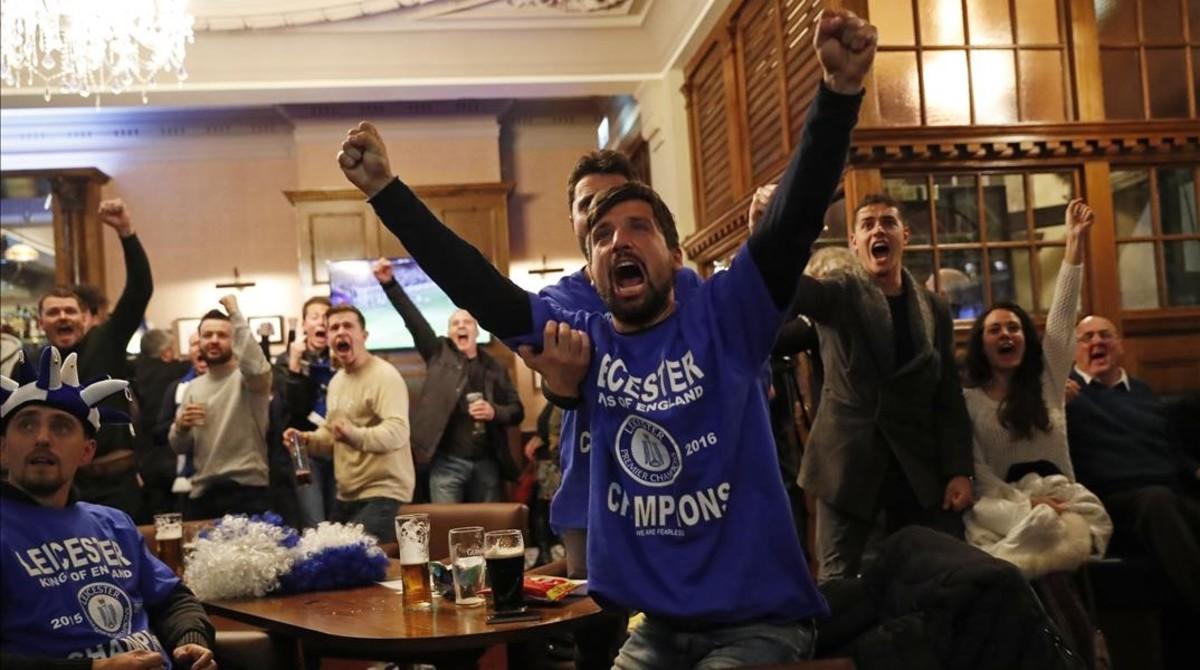 El Leicester, nou campió de la Premier League