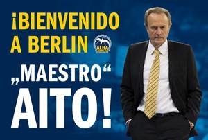 Aito García Reneses, nuevo técnico del Alba de Berlín