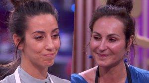 Almudena Cid y Ana Milán, las dos nuevas expulsadas de 'Masterchef Celebrity'.