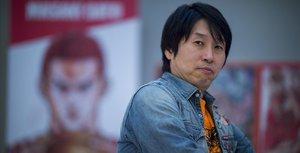 El animador Masaki Sato en el Salón del Manga.